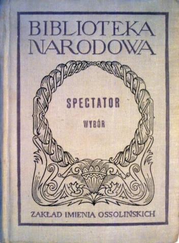 Okładka książki Spectator. Wybór