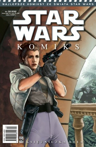 Okładka książki Star Wars Komiks 2/2012