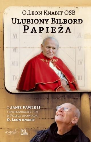 Okładka książki Ulubiony bilbord Papieża