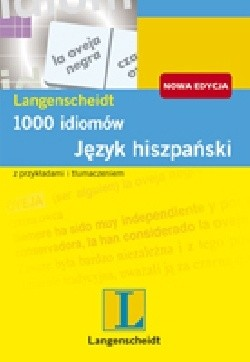 Okładka książki 1000 idiomów. Język hiszpański