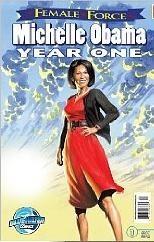 Okładka książki Michelle Obama: Year One