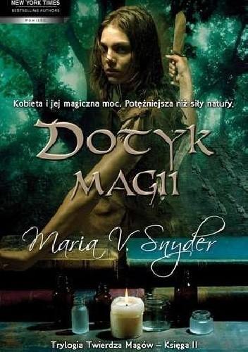 Okładka książki Dotyk magii