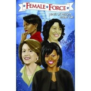 Okładka książki Women in Politics. Sonia Sotomayor, Condoleezza Rice, Michelle Obama, Nancy Pelosi