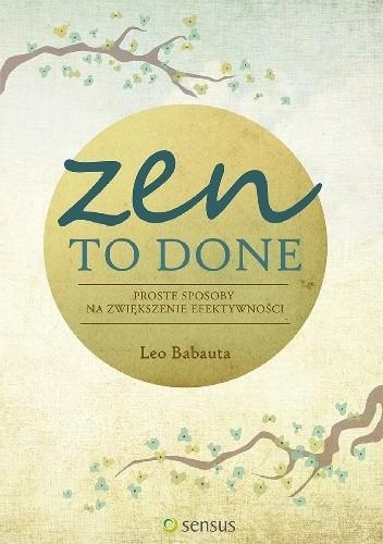 Okładka książki Zen To Done