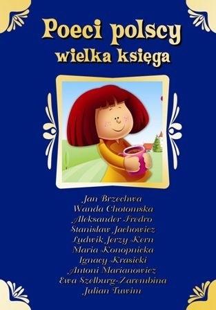 Okładka książki Poeci polscy. Wielka księga
