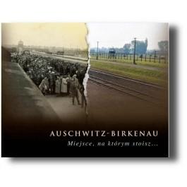 Okładka książki Auschwitz-Birkenau. Miejsce, na którym stoisz
