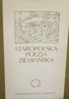 Staropolska poezja ziemiańska