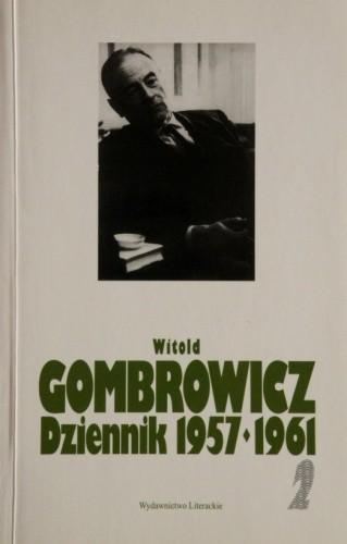 Okładka książki Dziennik 1957-1961