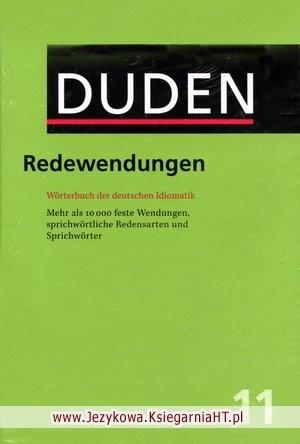 Okładka książki DUDEN BD 11. Redewendungen