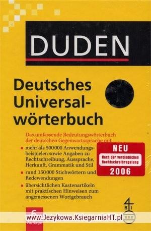 Okładka książki DUDEN Das Universalwörterbuch
