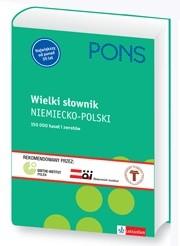 Okładka książki Wielki słownik NIEMIECKO-POLSKI