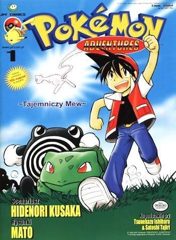 Okładka książki Pokémon adventures: #1 Tajemniczy Mew