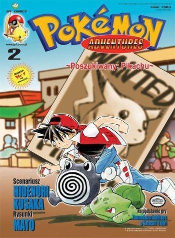 Okładka książki Pokémon Adventures: #2 Poszukiwany: Pikachu