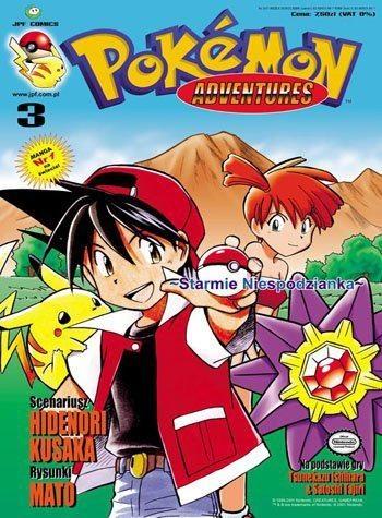 Okładka książki Pokémon Adventures: #3 Starmie Niespodzianka