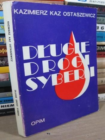 Okładka książki Długie drogi Syberii