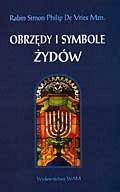 Okładka książki Obrzędy i symbole Żydów