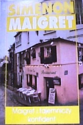 Okładka książki Maigret i tajemniczy konfident