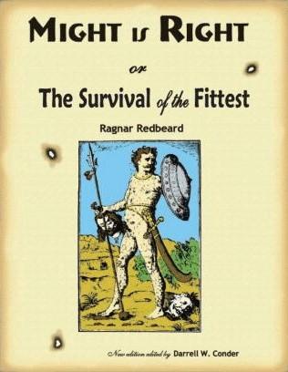 Okładka książki Might is Right