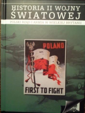 Okładka książki Polski rząd i armia w Wielkiej Brytanii