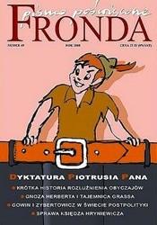 Okładka książki Fronda nr 49 zima 2008. Dyktatura Piotrusia Pana