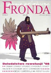 Okładka książki Fronda nr 47 lato 2008. Dziedzictwo rewolucji 1968 roku