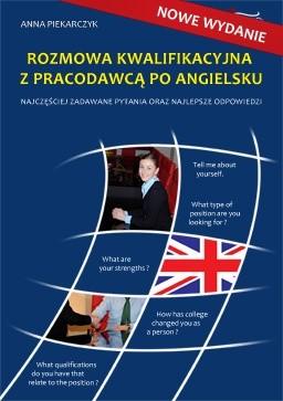 Okładka książki Rozmowa Kwalifikacyjna z Pracodawcą Po Angielsku