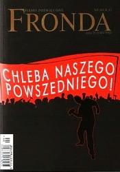 Okładka książki Fronda nr 43 koniec wakacji 2007. Chleba naszego powszedniego