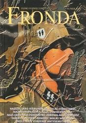 Okładka książki Fronda nr 25/26 zima 2001. Od Woltera do führera