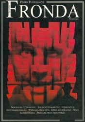 Okładka książki Fronda nr 4/5 wiosna-lato 1995. Odkłamać Chile