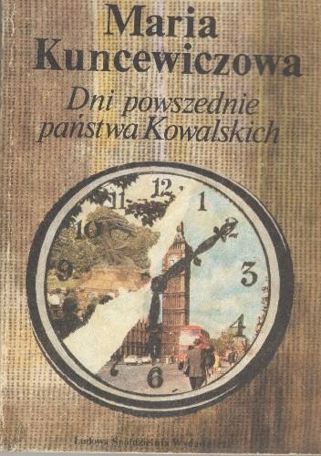 Okładka książki Dni powszednie państwa Kowalskich