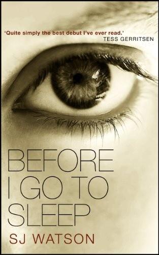 Okładka książki Before I Go To Sleep
