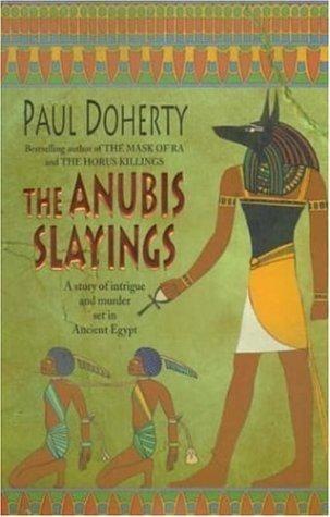 Okładka książki The Anubis Slayings