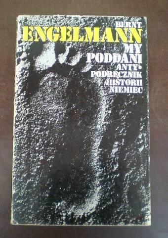 Okładka książki My poddani. Antypodręcznik historii Niemiec