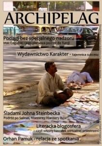 Okładka książki Archipelag nr 1/2010 Wiosna