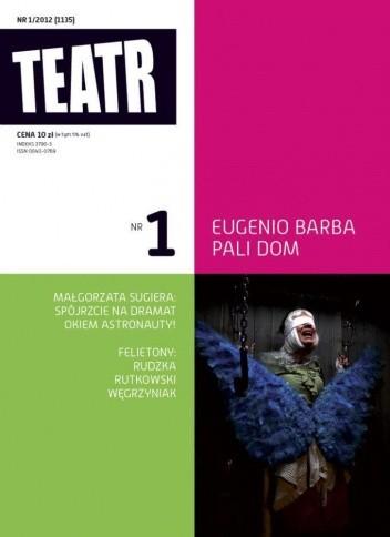 Okładka książki Teatr Nr 1/2012 (1135)