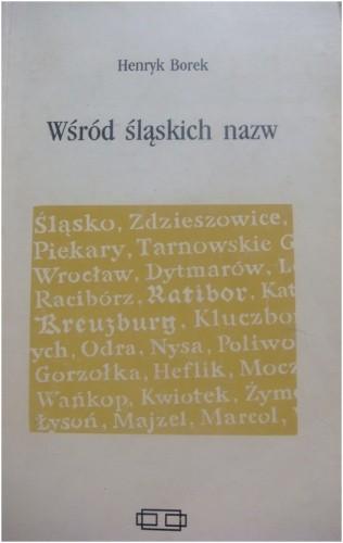Okładka książki Wśród śląskich nazw