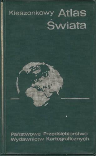 Okładka książki Kieszonkowy atlas świata