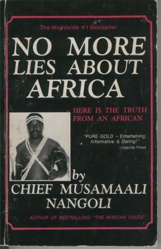 Okładka książki No More Lies About Africa