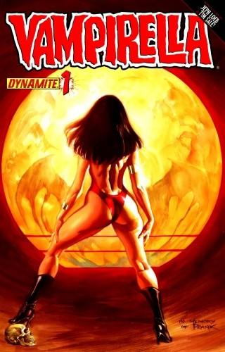 Okładka książki Vampirella 01 (2011)