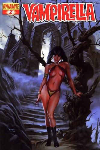 Okładka książki Vampirella 02 (2011)