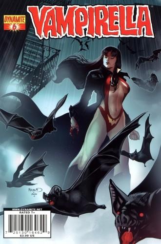 Okładka książki Vampirella 06 (2011)