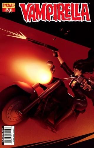 Okładka książki Vampirella 08 (2011)