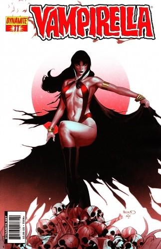 Okładka książki Vampirella 11 (2011)
