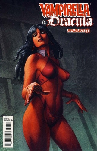 Okładka książki Vampirella vs. Dracula 01 (2012)