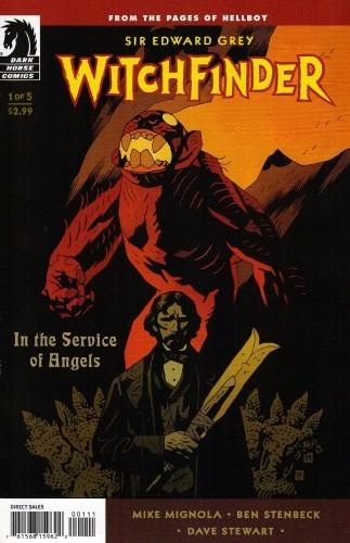 Okładka książki Witchfinder - In The Service of Angels 01