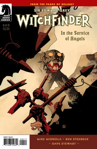 Okładka książki Witchfinder - In The Service of Angels  04
