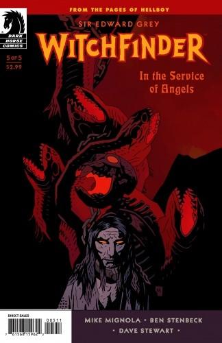 Okładka książki Witchfinder - In The Service of Angels  05