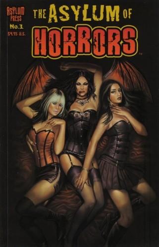 Okładka książki The Asylum of Horrors 01 (2008)