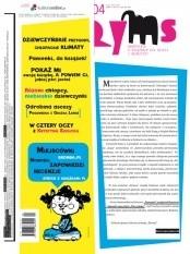 Okładka książki Ryms, nr 4, zima 2008/2009