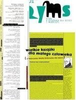 Okładka książki Ryms, nr 1, 2007